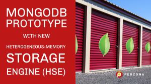 mongodb heterogeneous memory storage engine
