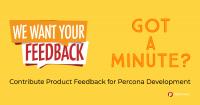 Percona Product Feedback