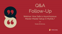 Q&A Followup