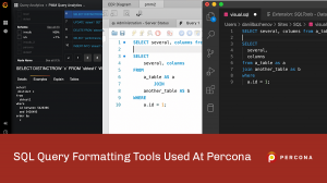 SQL Query Formatting Tools Used At Percona