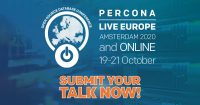 percona live europe call for papers