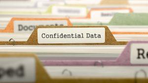 sensitive data security