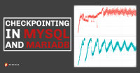 Checkpointing in MySQL and MariaDB