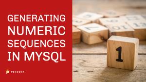 Generating Numeric Sequences in MySQL
