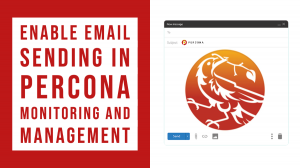 email sending percona monitoring and management