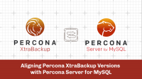 Aligning Percona XtraBackup Versions with Percona Server for MySQL