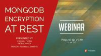 MongoDB Encryption at Rest Webinar
