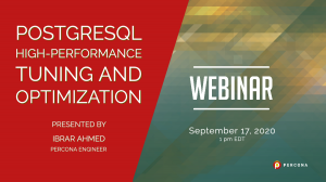 PostgreSQL High-Performance Tuning and Optimization