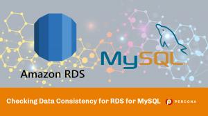 data consistency RDS MySQL