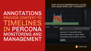 Annotations Percona Monitoring and Management