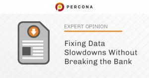 Fixing Data Slowdowns Without Breaking the Bank