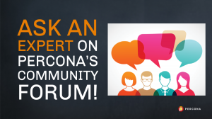 Percona Community Forum
