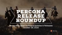 Percona Software Release Oct 26
