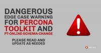 Percona Toolkit and pt-online-schema-change