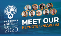 PerconaLiveOnline2020 Keynotes