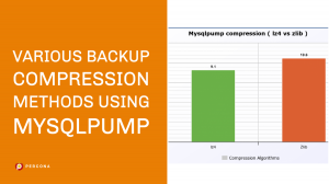 Backup Compression Methods Using Mysqlpump