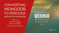 Converting MongoDB to Percona Server for MongoDB