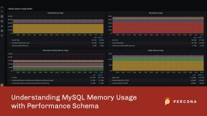 MySQL Memory Usage with Performance Schema
