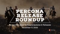 Percona Release Update Nov 9