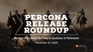 Percona Software Release