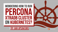 Run Percona XtraDB Cluster on Kubernetes