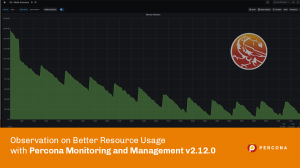 Better Resource Usage with Percona Monitoring and Management
