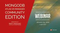 MongoDB Atlas vs Managed Community Edition