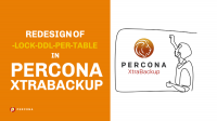 Redesign of -lock-ddl-per-table in Percona XtraBackup