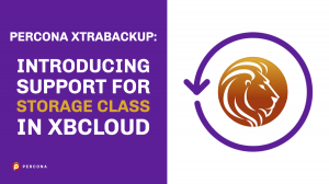 Support For Storage Class in xbcloud