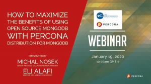Benefits of Using Open Source MongoDB with Percona Distribution for MongoDB
