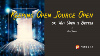 Keeping Open Source Open