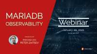 MariaDB Observability