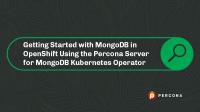 MongoDB in OpenShift