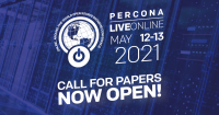 Percona Live ONLINE 2021 call for papers