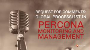 Global Processlist in Percona Monitoring and Management