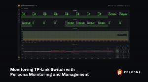 Monitoring TP-Link Switch with Percona Monitoring and Management