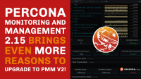 Percona Monitoring and Management - 2.15