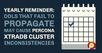 DDLs Percona XtraDB Cluster Inconsistencies