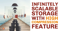 Infinitely Scalable Storage with High Compression Feature