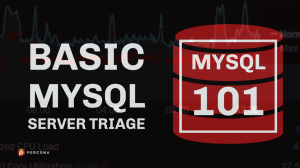 MySQL 101 Server Triage