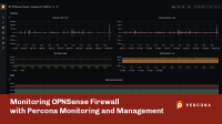 OPNsense firewall Percona Monitoring Management