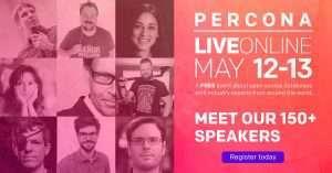 Percona Live ONLINE