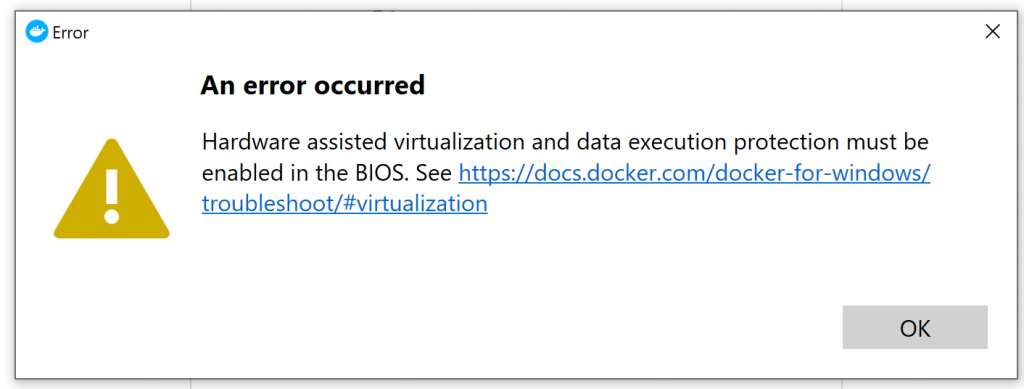 PMM on Windows Docker
