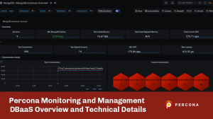 Percona Monitoring and Management DBaaS Overview