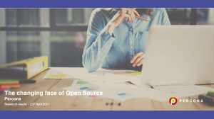 changing face of open source