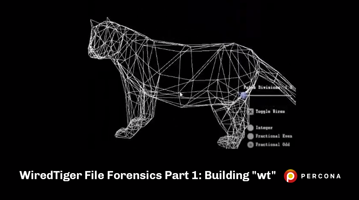 """WiredTiger File Forensics Part 1: Building """"wt"""""""
