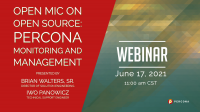 June Webinar Percona Monitoring and Management