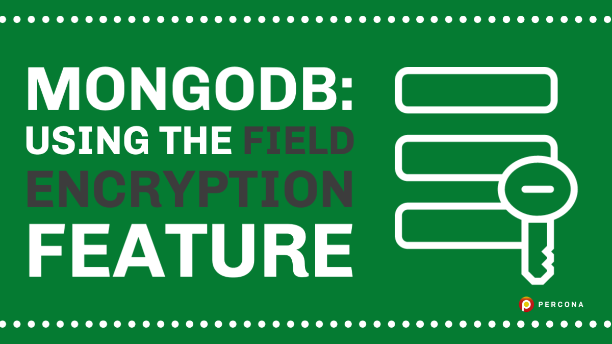 Using the MongoDB Field Encryption Feature