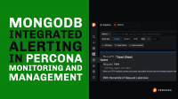 MongoDB Integrated Alerting in Percona Monitoring and Management