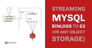 Streaming MySQL Binlogs to S3